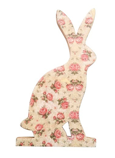 Vitale Dekoratif Tavşan Büyük Boy Krem